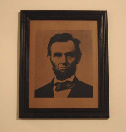 AM101 Large Abe Lincoln print-