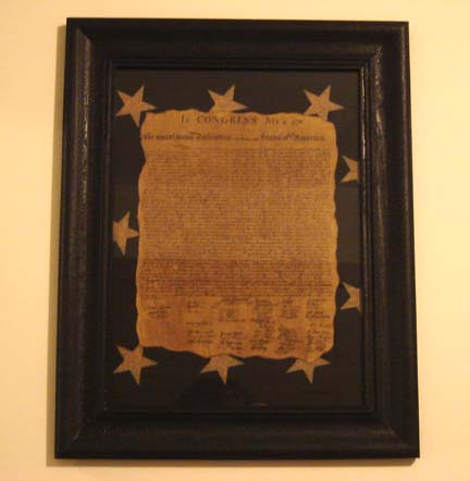Declaration Of Independence-