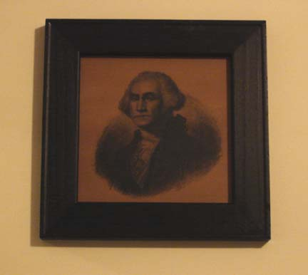 Small George Washington print-