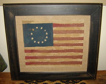 AM122 Framed Flag-
