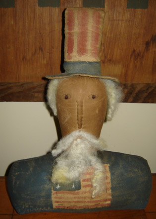 AM125 Uncle Sam Bust-