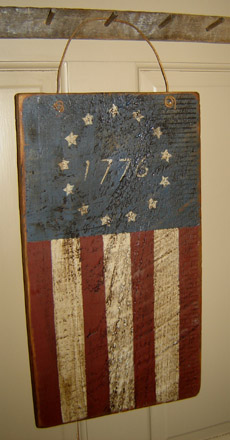 AM127 1776 Flag Hanger-