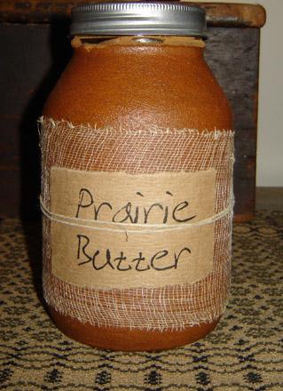 CA122 32oz. Prairie Butter Jar Candle-