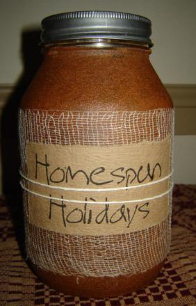 CA151 32 oz. Homespun Holidays-