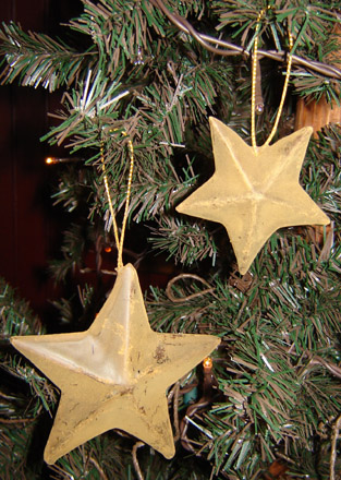 CT141 Cinnamon Star Ornies-Set of 6-