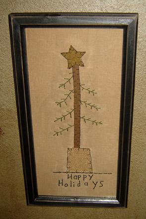CT232 Happy Holidays Stitchery-
