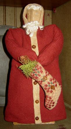 CT238 Santa With Stocking-