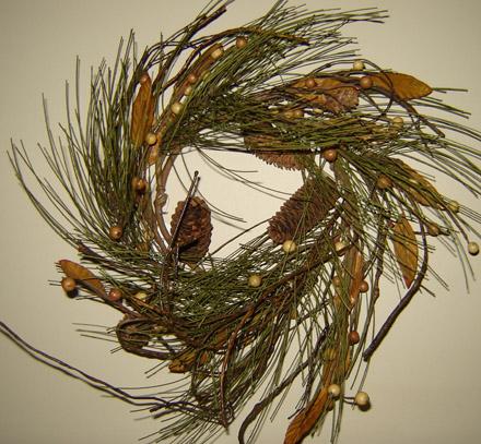 CT242 Large Woodland Pine Ring-