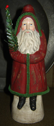 CT256 Christmas Red Traditional Belsnickle-