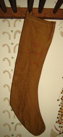 CT262 Arnett's 1742 Mustard Stocking-