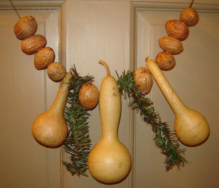 CT268 Christmas Gourd Garland-
