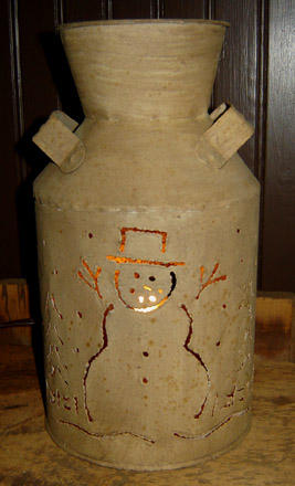 CT281 Snowman Lantern-