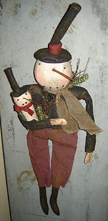 CT297 Papa Snowman-
