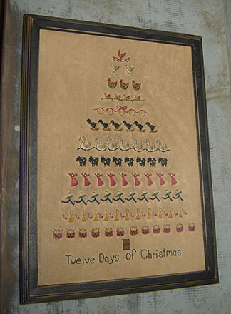 CT310 Twelve Days of Christmas Sampler-
