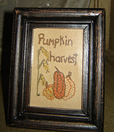 FH179 Pumpkin Harvest Sampler-