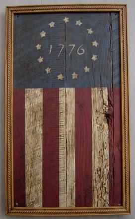 INSFL24X36 1776 Flag Insert-0003, tavern sign