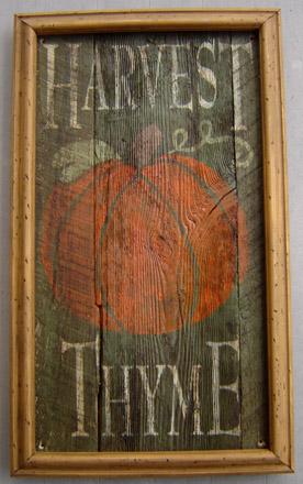 INSHT24X36 Harvest Thyme Insert-0011, tavern sign