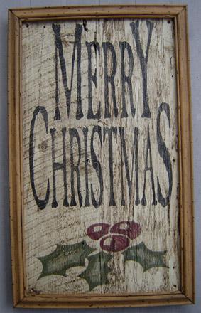 INSMC24X36 Merry Christmas Insert-0015, tavern sign