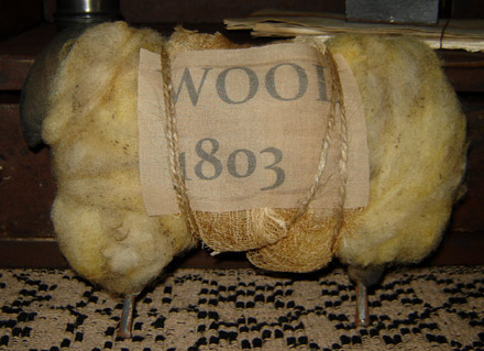 MO165 1803 Wooly Sheep-
