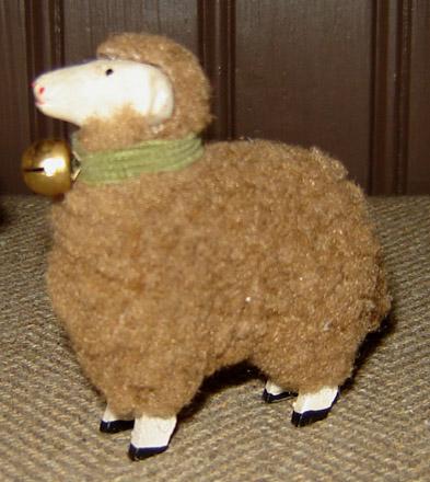 MO184 Baby Brown German Sheep-