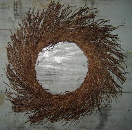 """MO217 18"""" Vine Wreath-"""