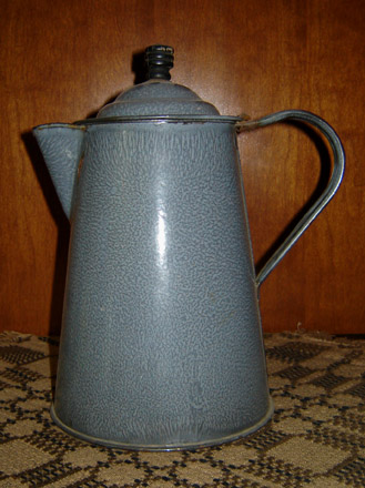 OS104 Granite Ware Coffee Pot-