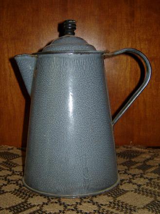 OS104 Granite Ware Coffee Pot-