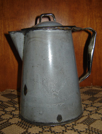 OS105 Granite Ware Coffee Pot-