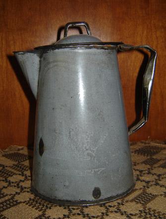 OS105 Granite Ware Coffee Pot-