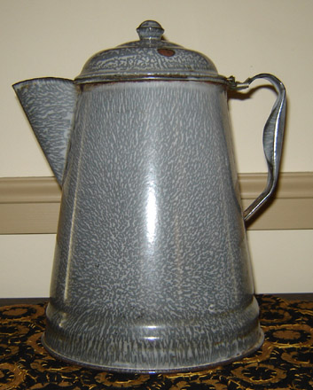 OS110 Large Granite Coffee Pot-