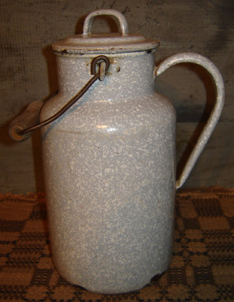 OS131 Granite Ware Canister with Bail Handle-