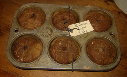 PAN105 Molasses Cakes In Old Tin-