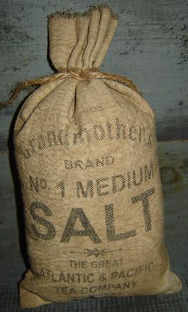 PAN125 Grandmothers Salt Sack-