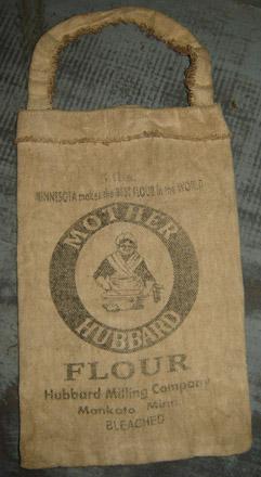 PAN126 Mother Hubbard Flour Pantry Bag-