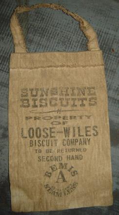 PAN127 Sunshine Biscuit Pantry Bag-