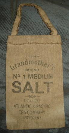 PAN128 Grandmothers Salt Pantry Bag-