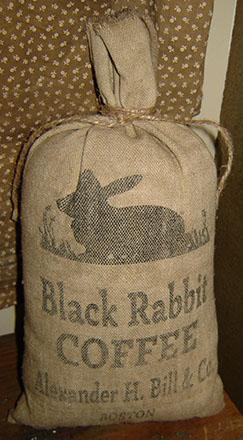 PAN130 Black Rabbit Coffee Bag-
