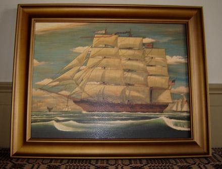 PS126 Ship Print-