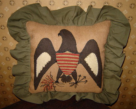 PW130 Eagle Pillow-