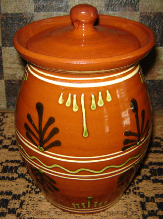 RD105 Large Decorative Canister-