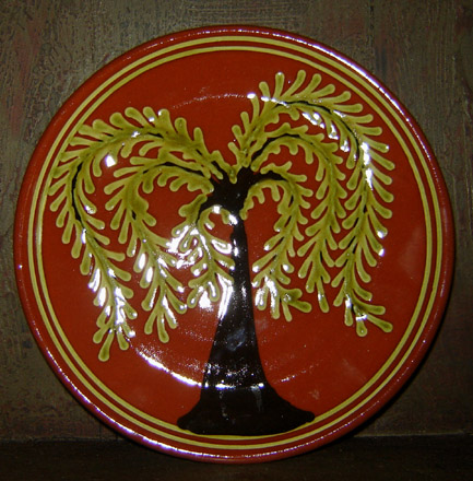 RD115 Willow Tree Plate-