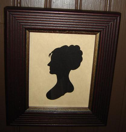 SIL102 Woman Silhouette-