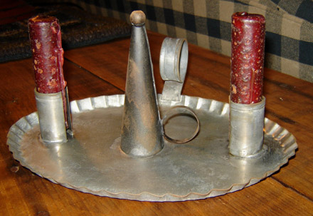 TN142 Snuffer & Candle Tray-
