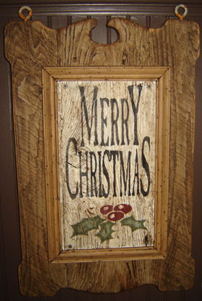 TVMC24X36 Tavern Sign With Merry Christmas Insert-0013, tavern sign