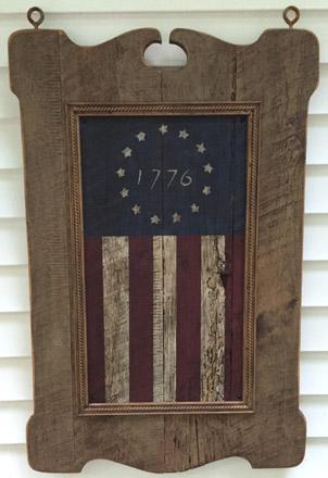 TVFL24X36 Tavern Sign With 1776 Flag Insert-0001, tavern sign