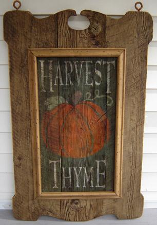 TVHT24X36 Tavern Sign With Harvest Thyme Insert-0009, tavern sign