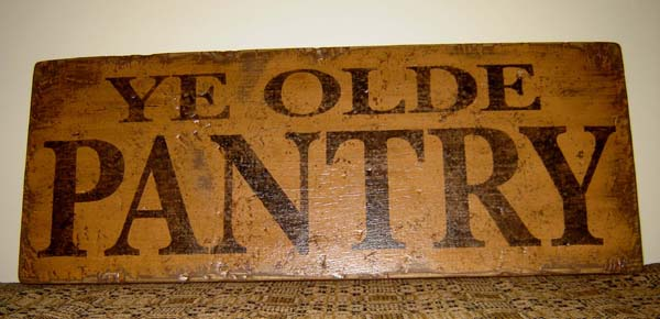 WS102 Ye Olde Pantry-