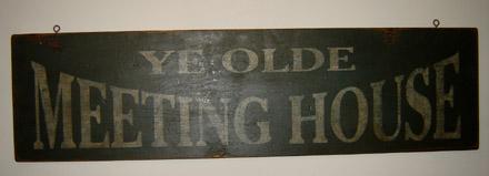 WS123 Ye Olde Meetinghouse-
