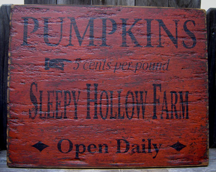 WS145 Super Distressed Sleepy Hollow Farm-