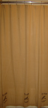 WT118 Old Crow Brand Shower Curtain-